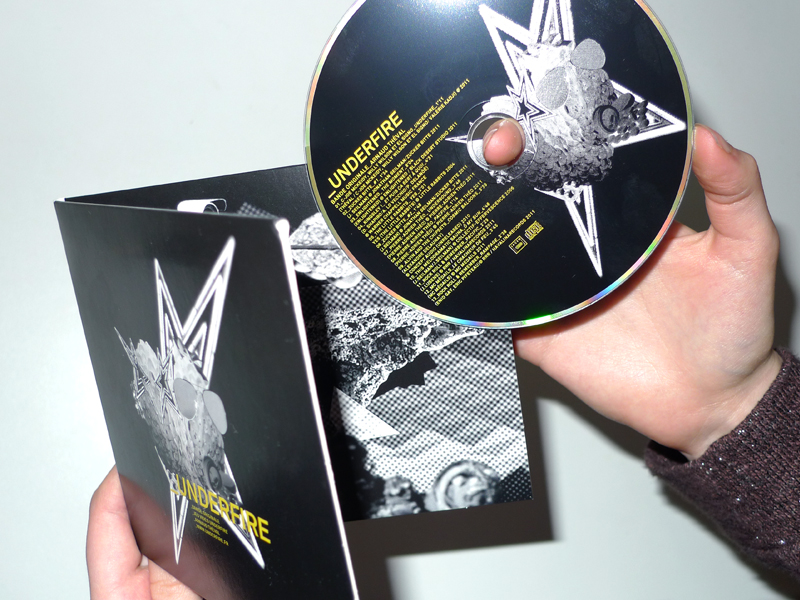 Theval Invisibles underfire cd