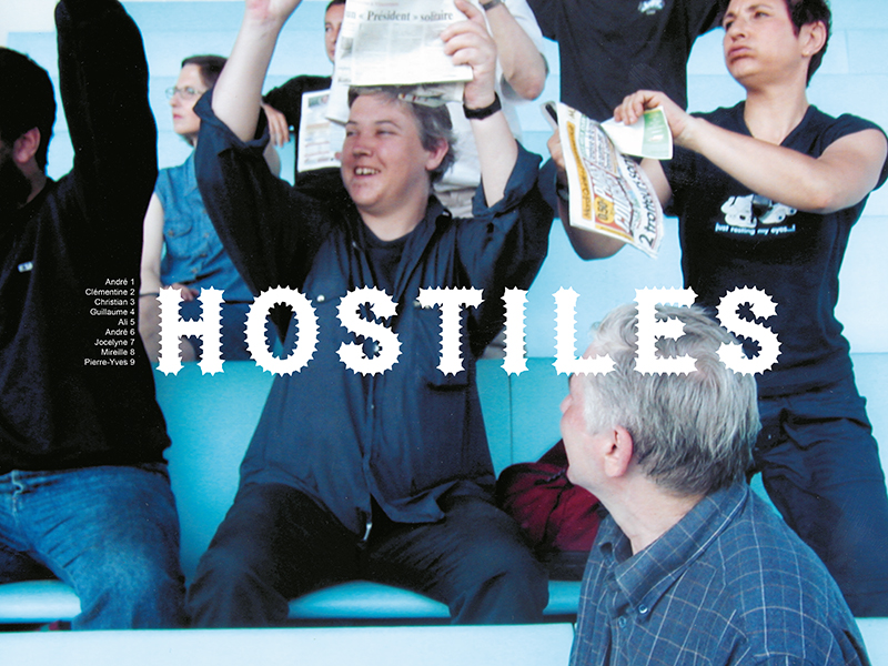 Hostiles (2003) art et psychiatrie, workshop sur les peurs urbaines.